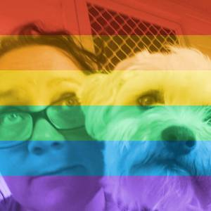 Image by The Naughty Corner, and by that app thing that put a rainbow over your profile picture.